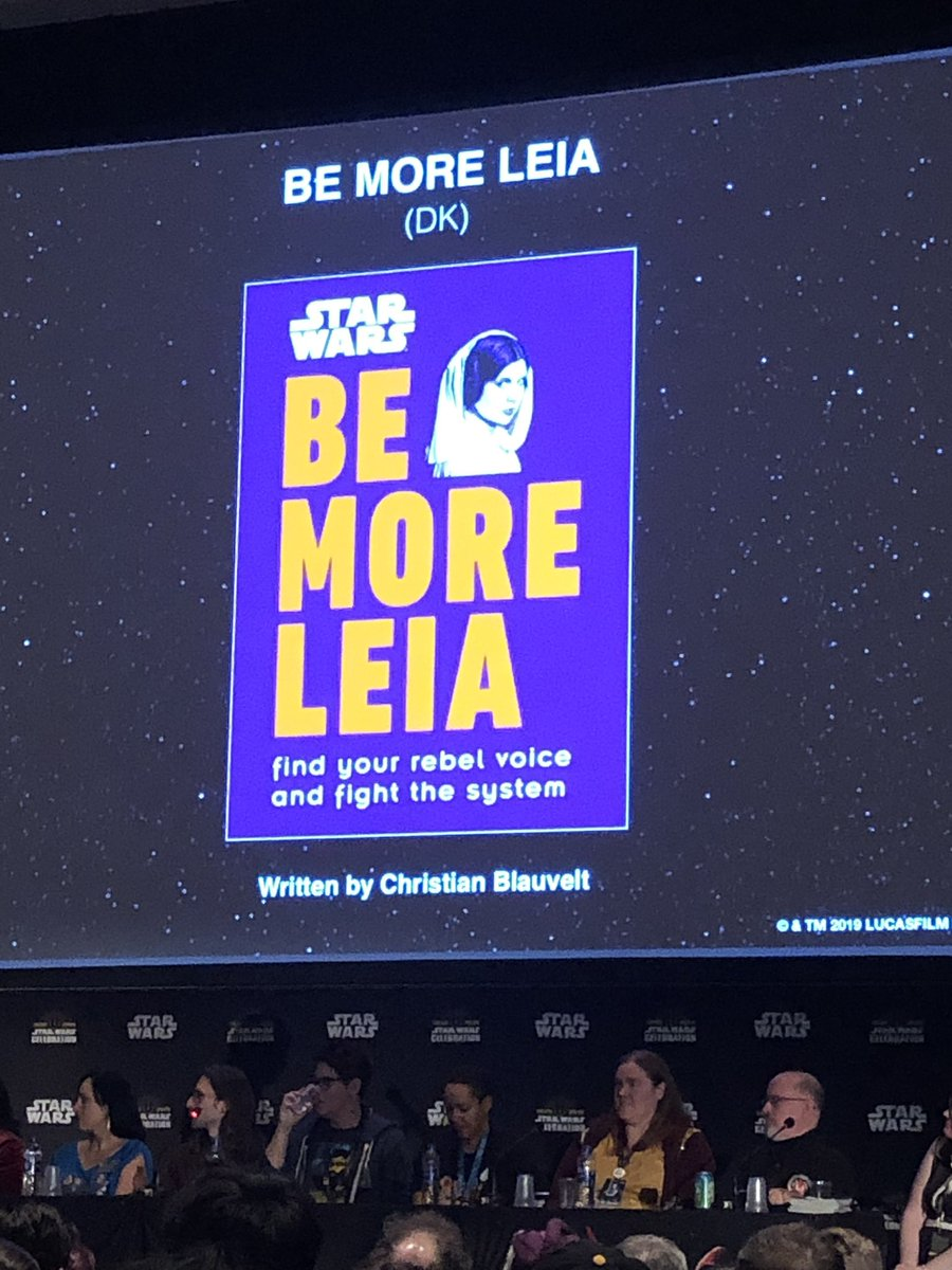 Be More Leia cover art