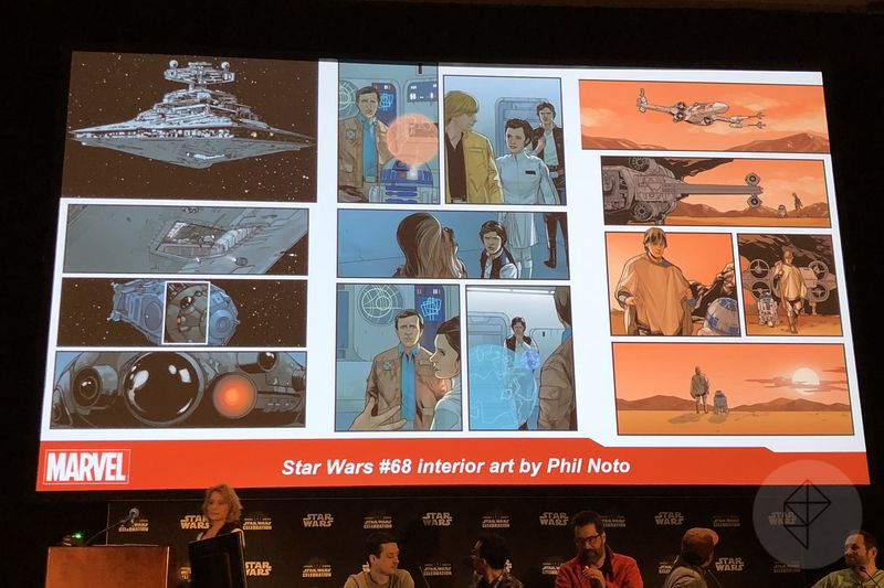 Star Wars #68 interior art