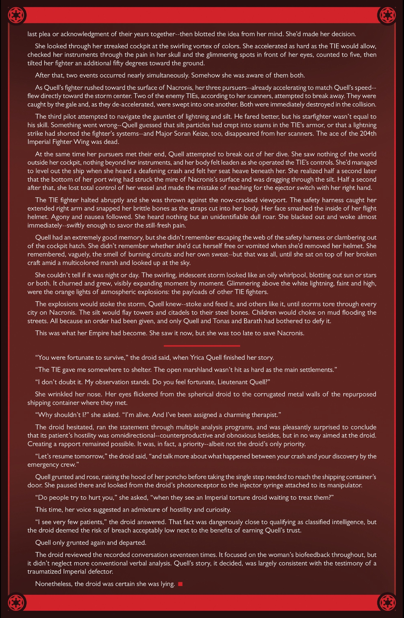 Alphabet Squadron Excerpt Page 2