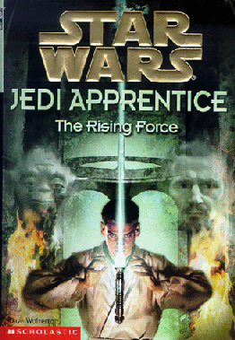 Jedi Apprentice: THe Rising Force cover