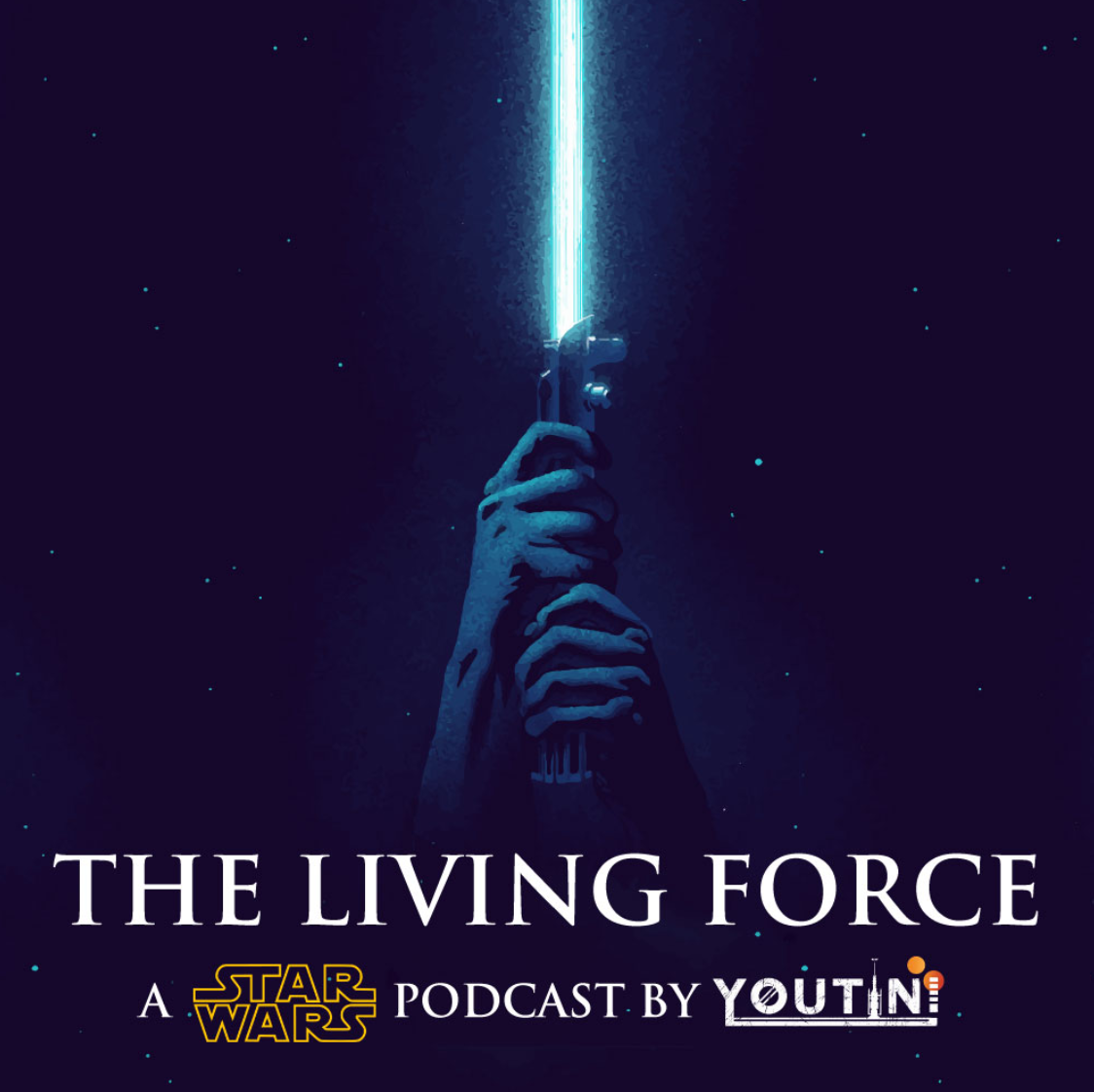The Living Force Podcast Logo