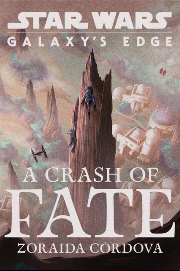 Galaxy's Edge: A Crash of Fate cover art by Matt Griffin