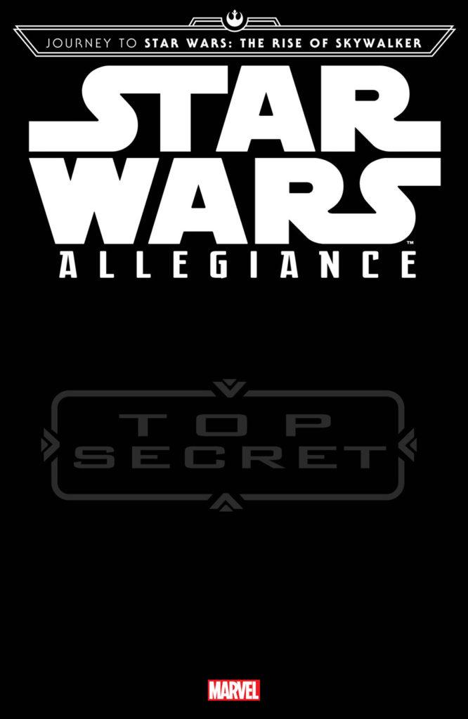 Journey to Star Wars: The Rise of Skywalker: Allegiance by Ethan Sacks & Luke Ross cover