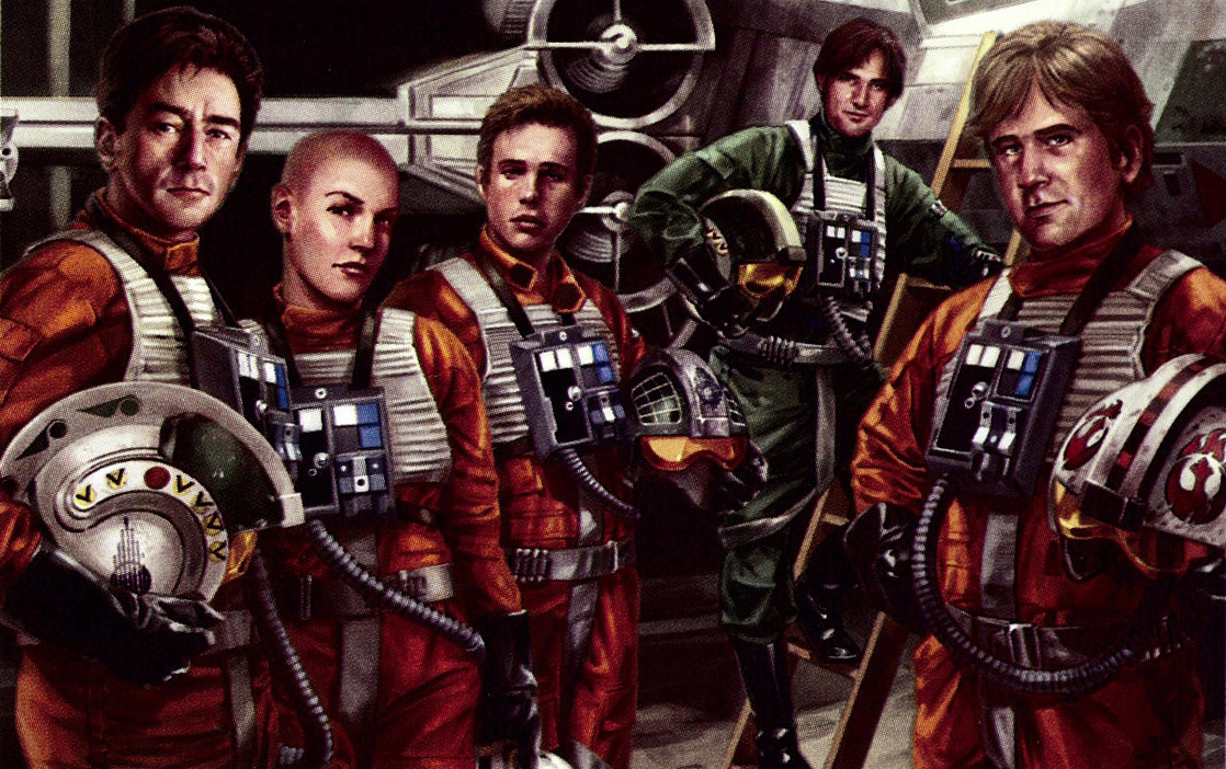 Rogue Squadron characters