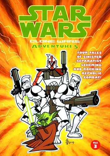 Clone Wars Adventures Volume 3