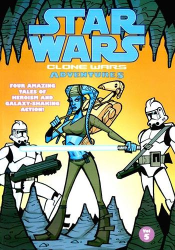Clone Wars Adventures Volume 5