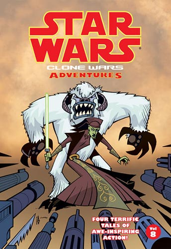 Clone Wars Adventures Volume 8