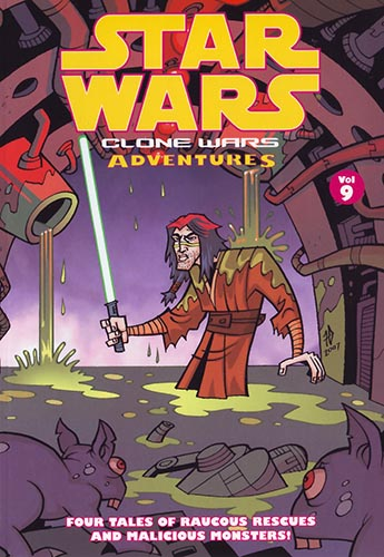 Clone Wars Adventures Volume 9