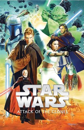 Episode II: Attack of the Clones (Hardcover)