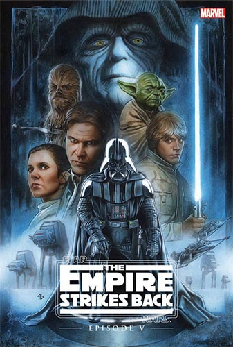 Episode V: The Empire Strikes Back (Hardcover) (Remastered) (1977)