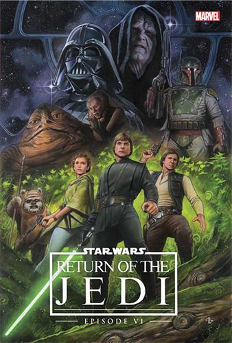 Episode VI: Return of the Jedi (Hardcover) (Remastered) (1983)