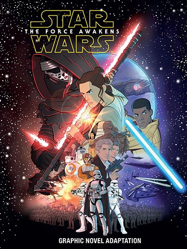 The Force Awakens Graphic Novel Adaptation