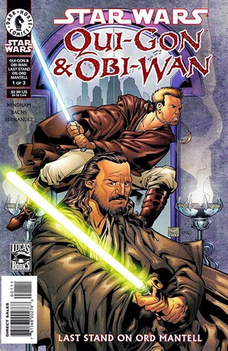 Qui-Gon & Obi-Wan: Last Stand On Ord Mantell #1
