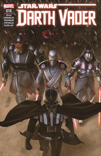 Darth Vader: Dark Lord of the Sith 16: Burning Seas Part IV