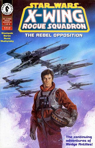 X-Wing: Rogue Squadron: The Rebel Opposition #1