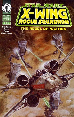 X-Wing: Rogue Squadron: The Rebel Opposition #2