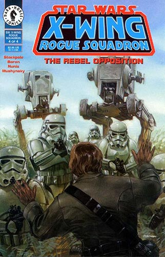 X-Wing: Rogue Squadron: The Rebel Opposition #4