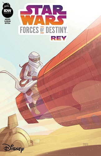 Forces Of Destiny: Rey