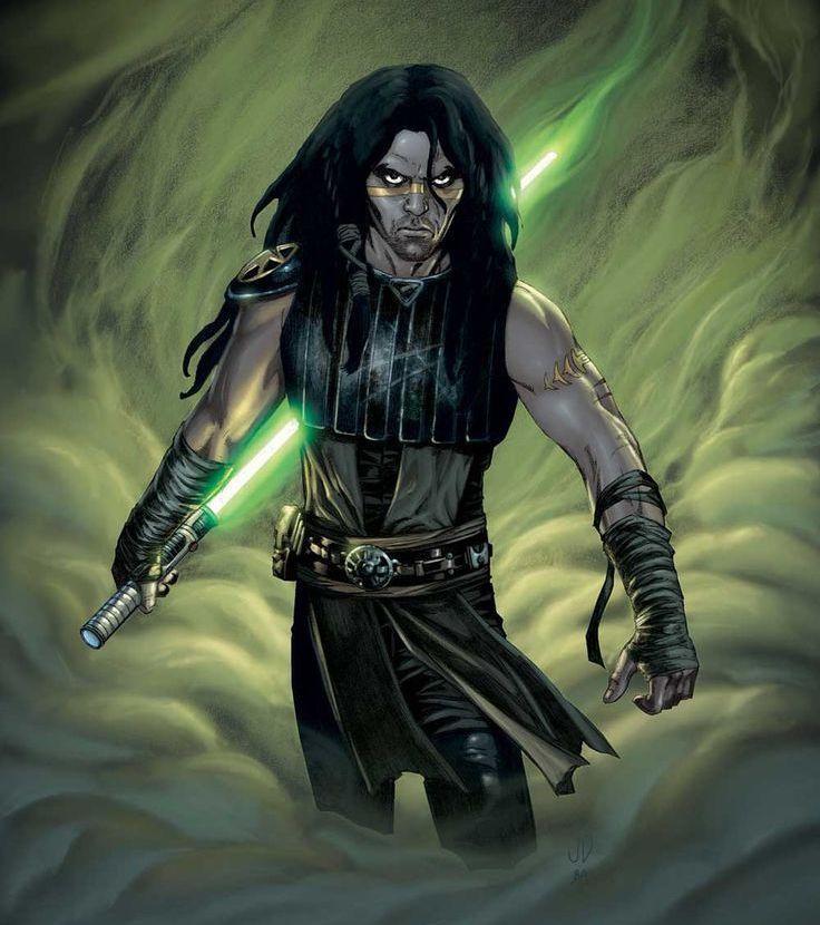 Quinlan Vos in the Clone Wars era