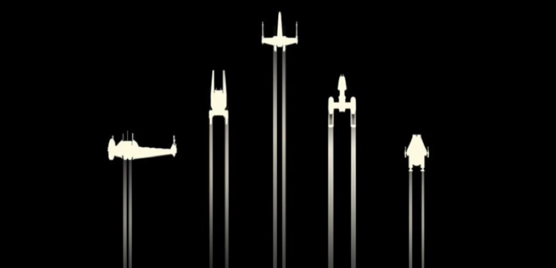 The ships of Alphabet Squadron