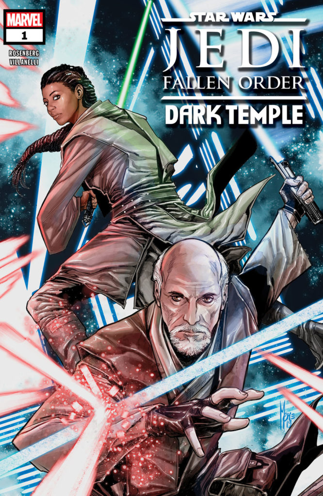 Star Wars Jedi: Fallen Order - Dark Temple #1 cover
