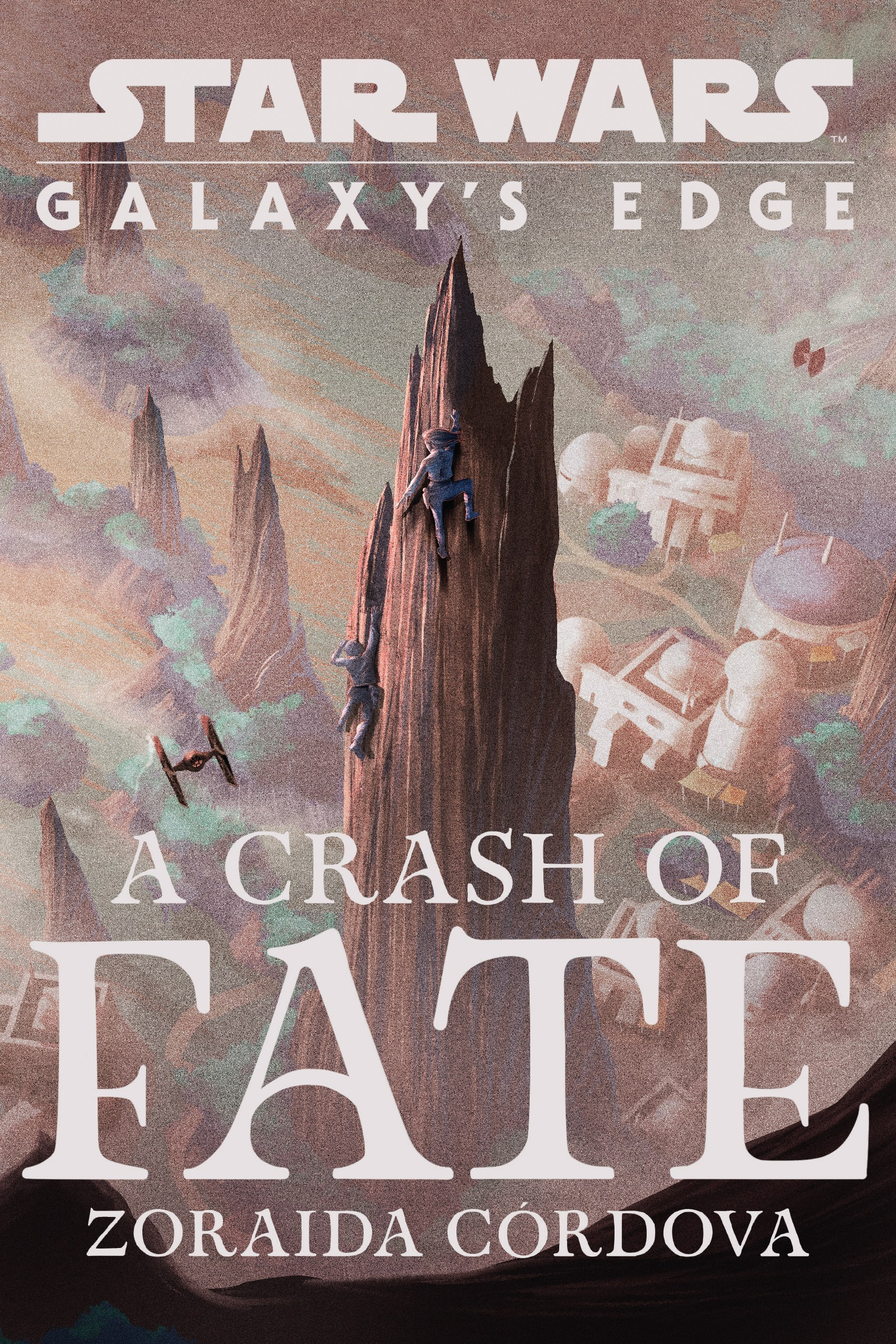 Galaxy's Edge: A Crash of Fate cover