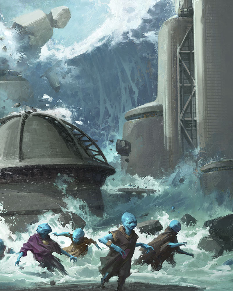 Vengeful Waves by Grant Griffin