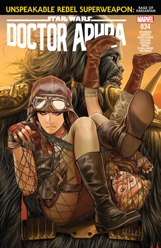 Doctor Aphra 34: Unspeakable Rebel Superweapon, Part III