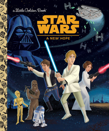 A New Hope (Little Golden Book)