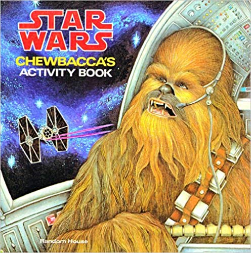 Chewbacca's Activity Book