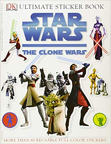 Clone Wars Ultimate Sticker Book