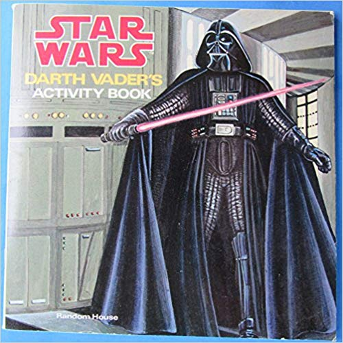 Darth Vader's Activity Book