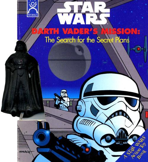 Darth Vader's Mission: The Search for the Secret Plans