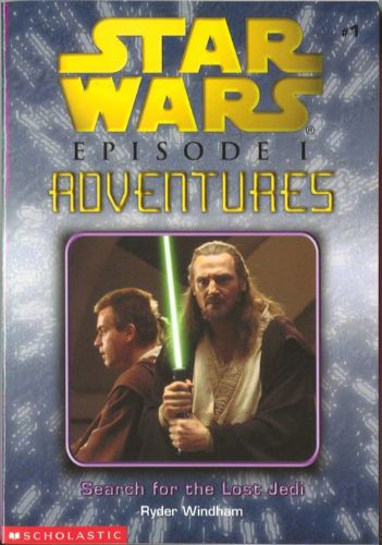 Episode I Adventures #1: Search for the Lost Jedi