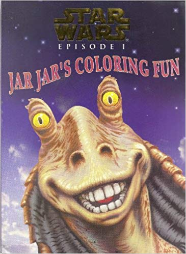 Episode I: Jar Jar's Coloring Fun