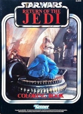 Return of the Jedi Coloring Book (1983)