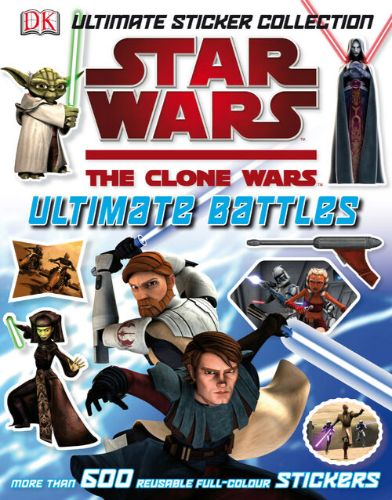 The Clone Wars Ultimate Battles Sticker Collection