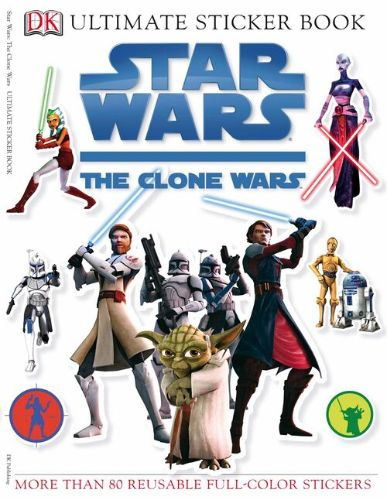 The Clone Wars Ultimate Sticker Book