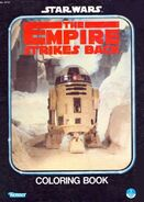 The Empire Strikes Back Coloring Book (1980)