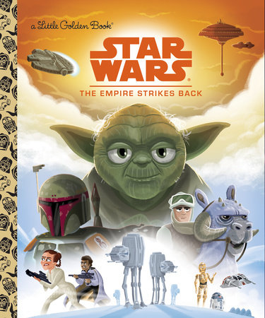 The Empire Strikes Back (Golden Book)