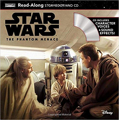 The Phantom Menace Read-Along Storybook