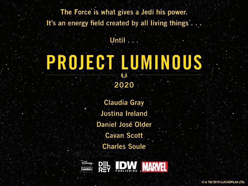 Project Luminous Announcement