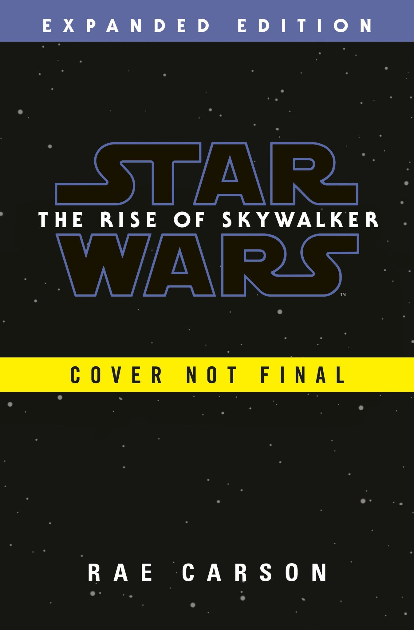 The Rise of Skywalker Preliminary Cover