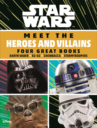 Meet the Heroes and Villains Boxset