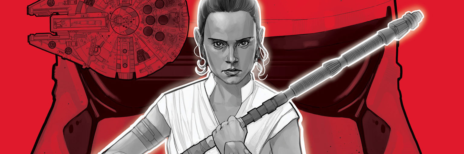 Rey from Spark of the Resistance by Phil Noto