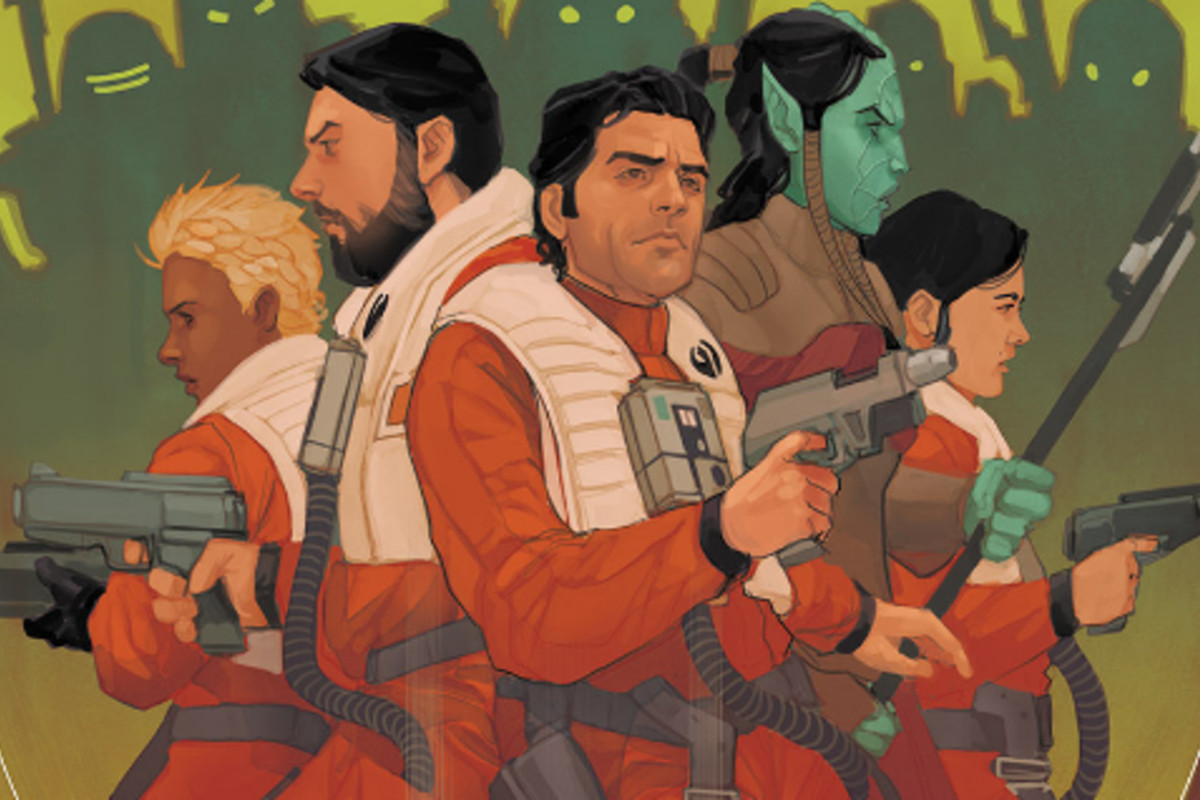 Black Squadron from the Poe Dameron comic series
