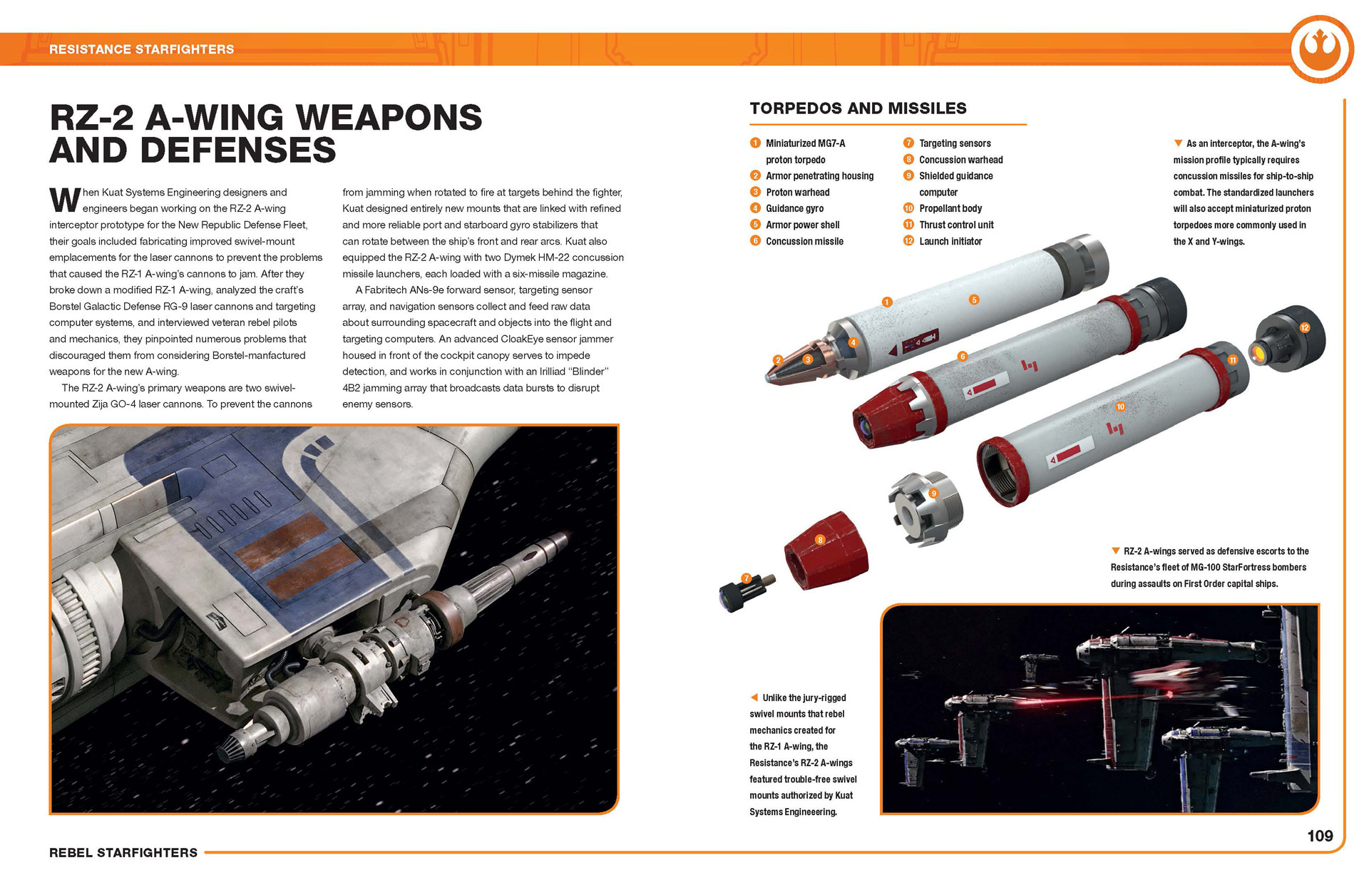 RZ-2 A-Wing Weapon Defenses