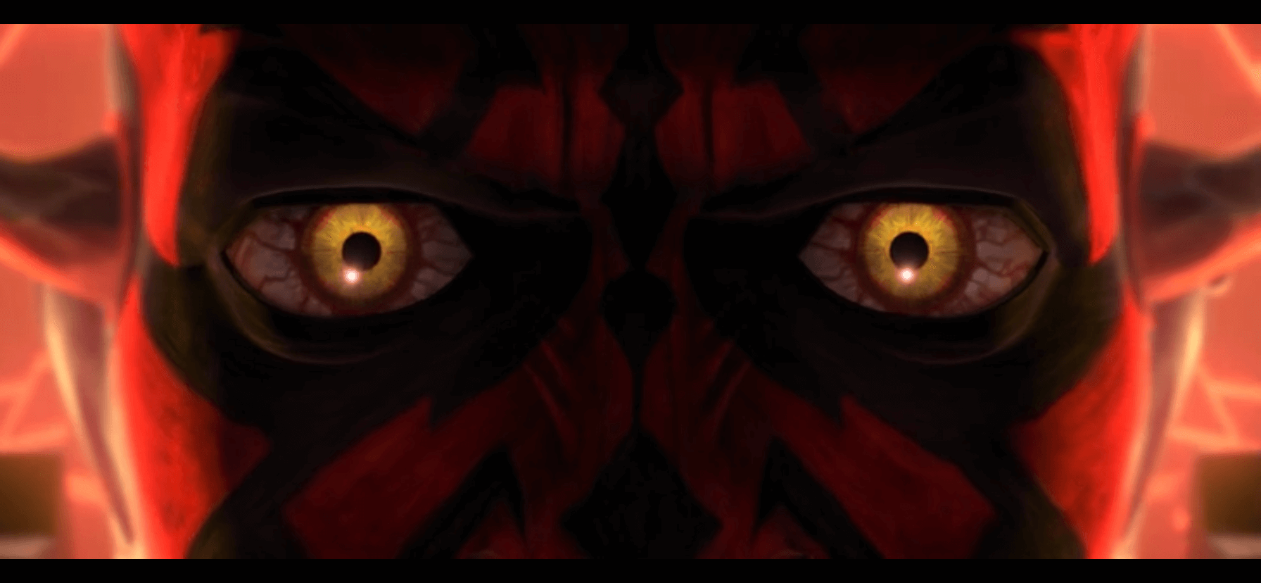 The mad eyes of Maul