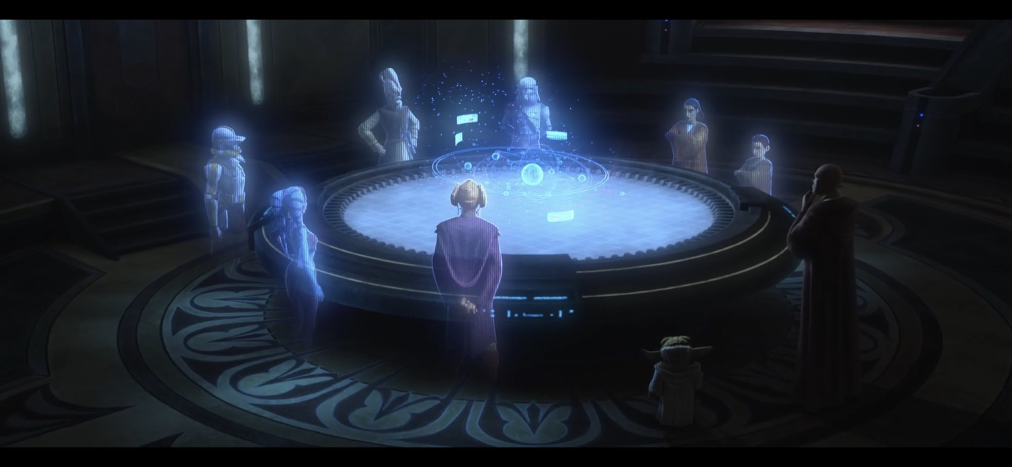 The Jedi Council planning their next move