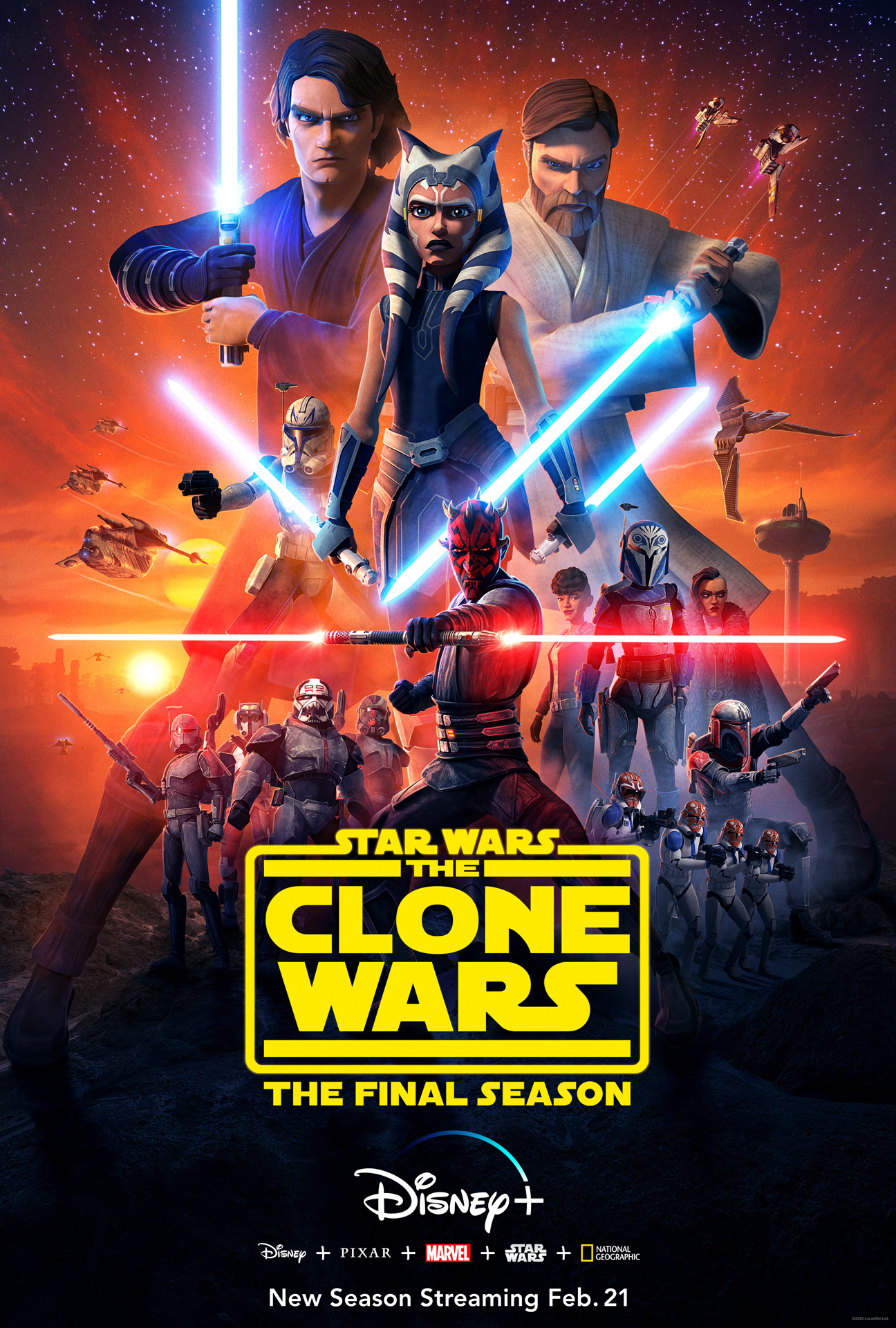 The Clone Wars Season 7 Poster